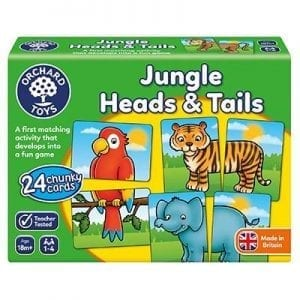 orchard toys jungle heads and tails