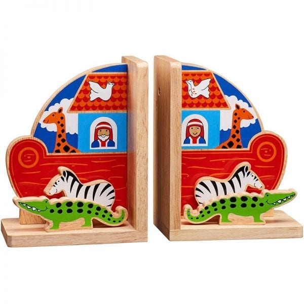 Wooden Bookends - Lanka Kade Noah's Ark