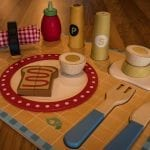 Wooden Breakfast Set – Tender Leaf Toy Breakfast Tray