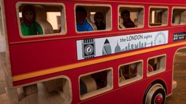 Lanca Kade Deluxe Wooden London Bus Toy