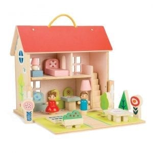 Tender Leaf Toys Wooden Dolls House Set