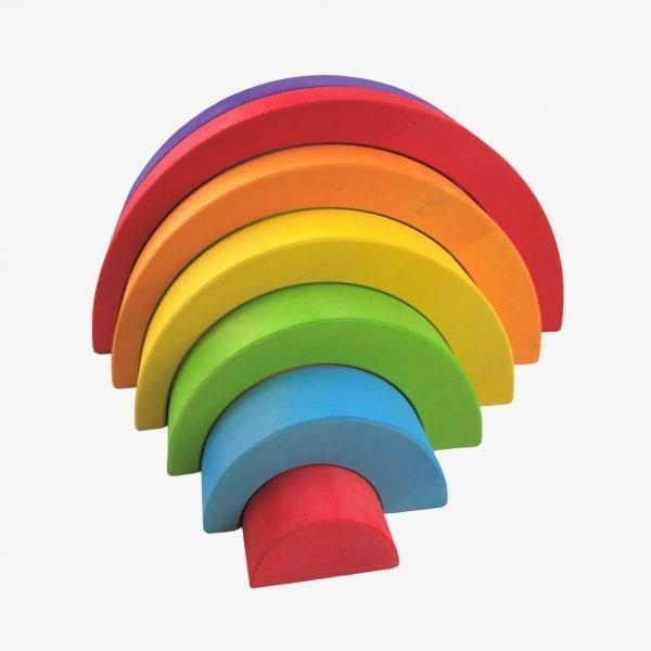 Bajo wooden rainbow toy