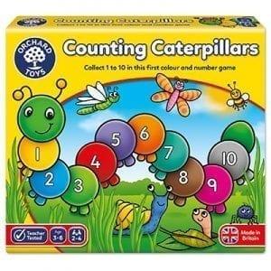Counting Caterpillars