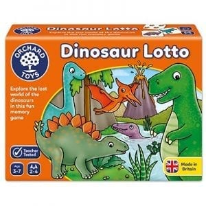 Dinosaur Lotto (slightly crushed box)