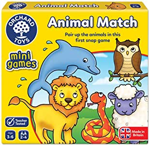 orchard toys animal match