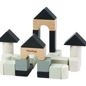 Plan Toys Mini Wooden Construction Set
