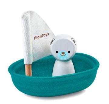 Bath boat plan toys sailing boat polar
