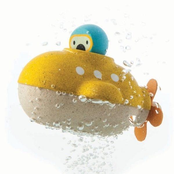 Plan toys bath submarine