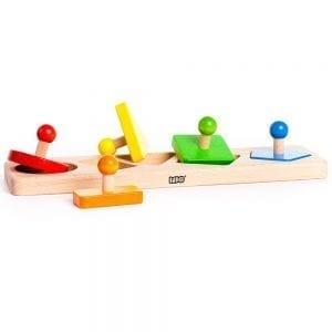 Bajo Figures Wooden Shape Sorting Board