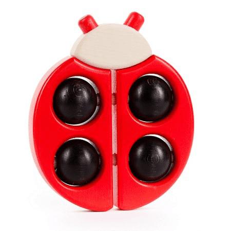 Bajo Wooden Ladybird Teether