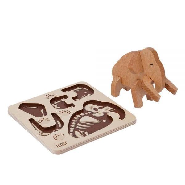 Bajo Mammoth puzzle
