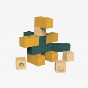 Elou Blocks 12 – Cork Toy Building Blocks