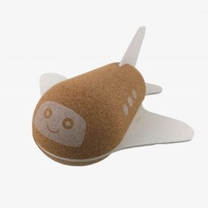Elou Bubble Plane Cork Toy