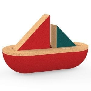 Elou Sailing Boat Cork Toy