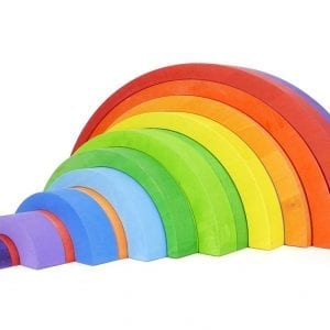 Wooden Rainbow by Bajo – Large