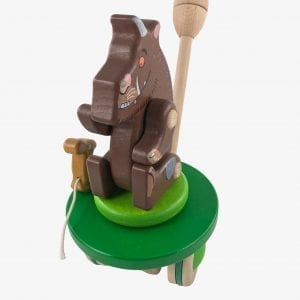 Bajo Gruffalo & Mouse Push Along Toy