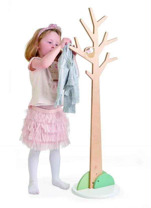 Kids coat stand