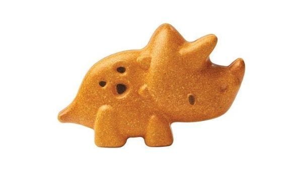 Plan Toys Triceratops Wooden Toy