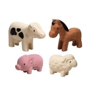 Plan Toys Farm animals set
