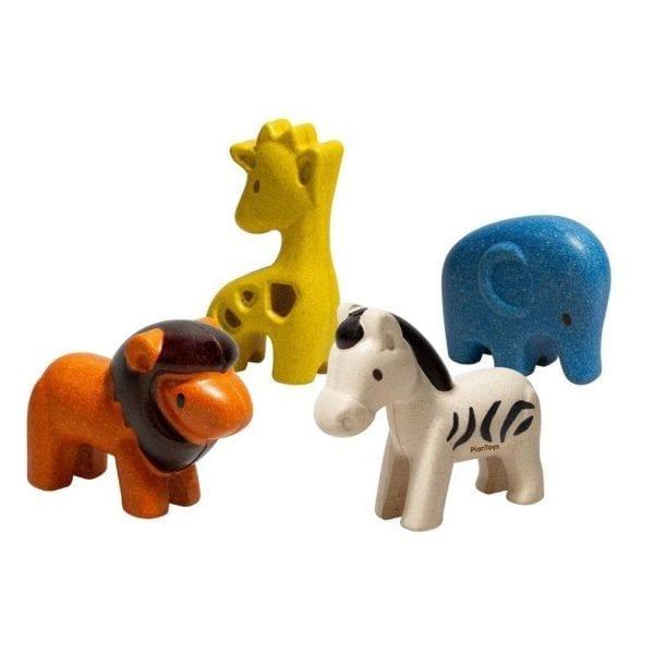 Plan Toys Wild animals set