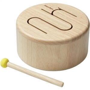 Plan Toys Solid Drum – Natural