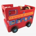 London Bus Money Box – Tender Leaf Toys
