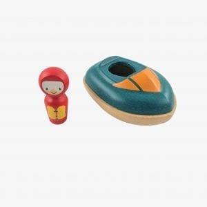 bath speed boat - plan toys