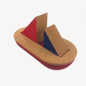 Elou Sailing Boat Cork Toy