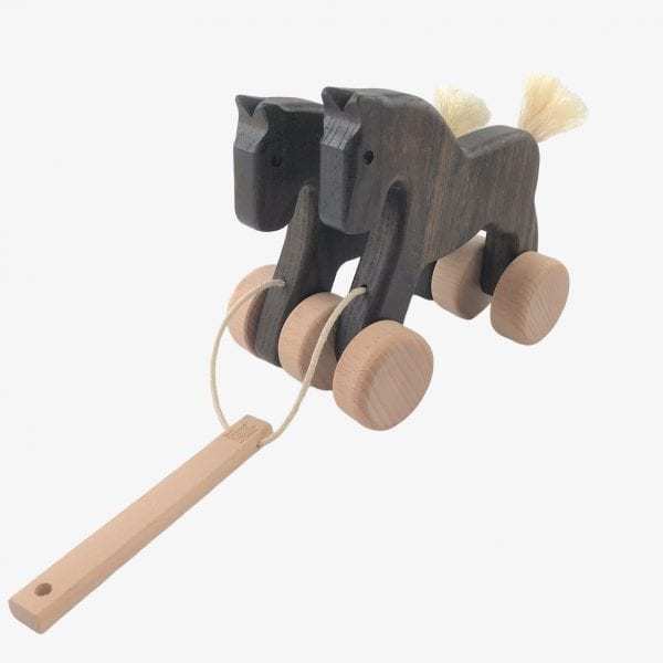 Bajo Jumping Horses - Wooden Horse Toy