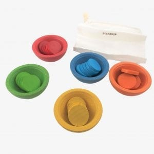 Plan Toys Sort and Count Cups – Sorting Toys