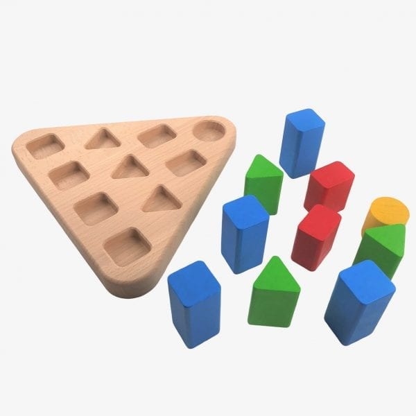 Bajo Colour and Shape Sorter - Triangle