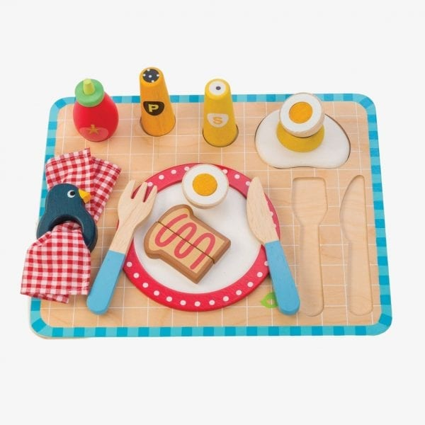 tender leaf toys breafast tray toy