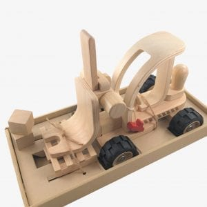 Wooden Forklift Truck Toy – Special Edition