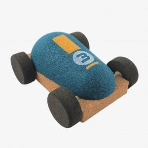 Elou Racing Car Green Cork Toy