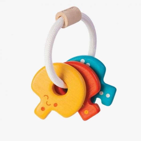 plan toys key rattle