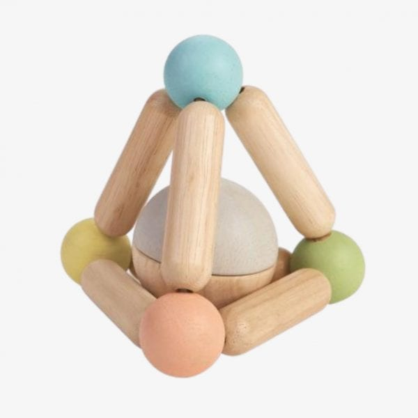 plan toys triangle clutching toy