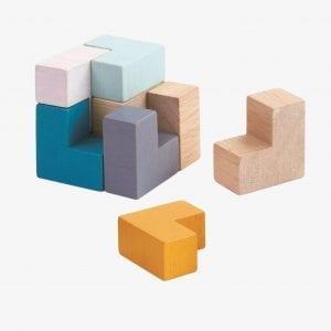 Plan Toys Mini 3D Puzzle Cube