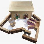 Lanka Kade Pig and Sheep Barn – 18 Colourful Wooden Pieces