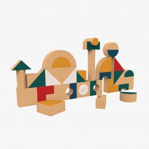 Elou Shapes 36 Cork Toy