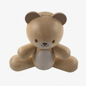 Plan Toys Wooden Mini Bear