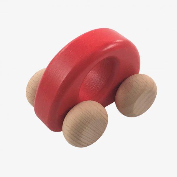 bajo red ellipse car