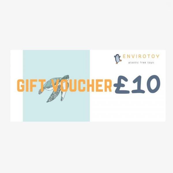 envirotoy gift voucher £10