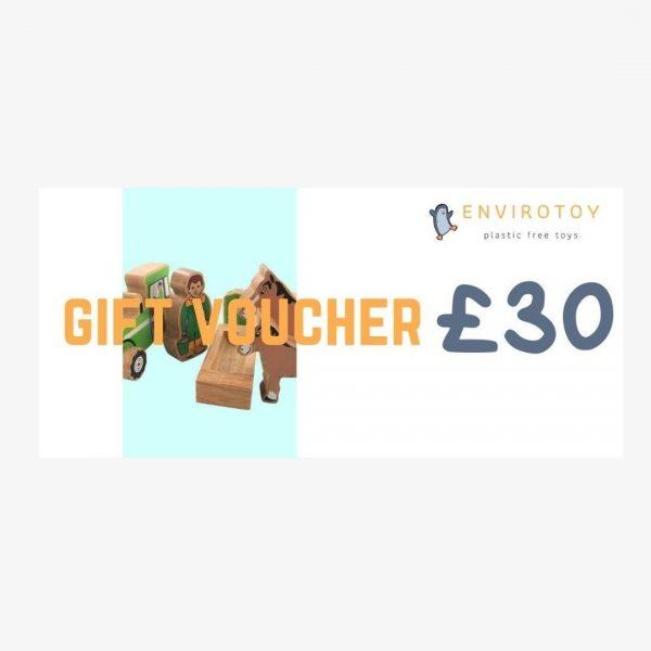envirotoy gift voucher £30