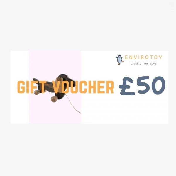 envirotoy gift voucher £50