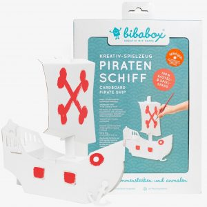 Bibabox 3D Card Pirate Ship