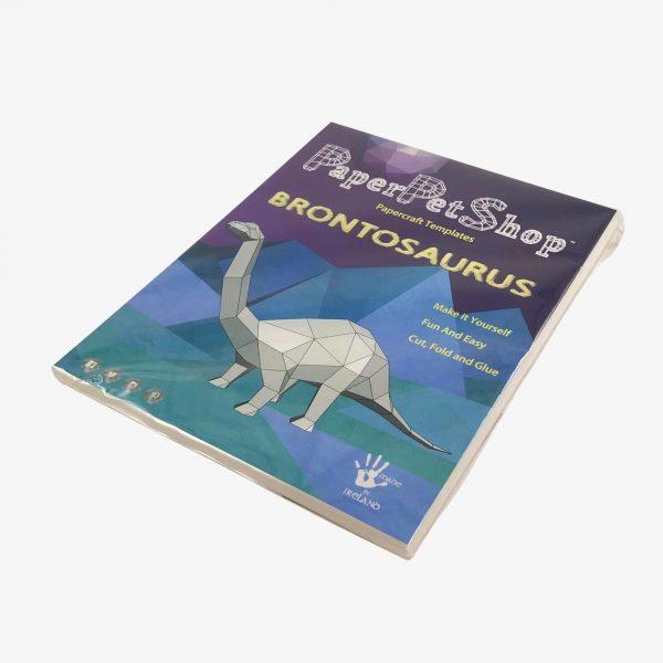 paper pet shop brontosaurus