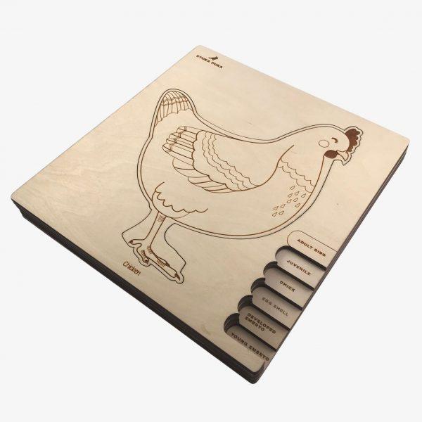 Stuka Puka Chicken Puzzle
