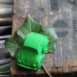 Oli and Carol Small Beetle Car Green