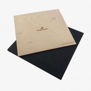 Stuka Puka Tangram Chalkboard Wooden Puzzle