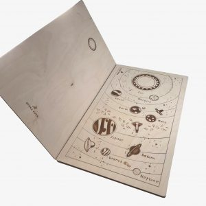 Stuka Puka Planets Wooden Puzzle